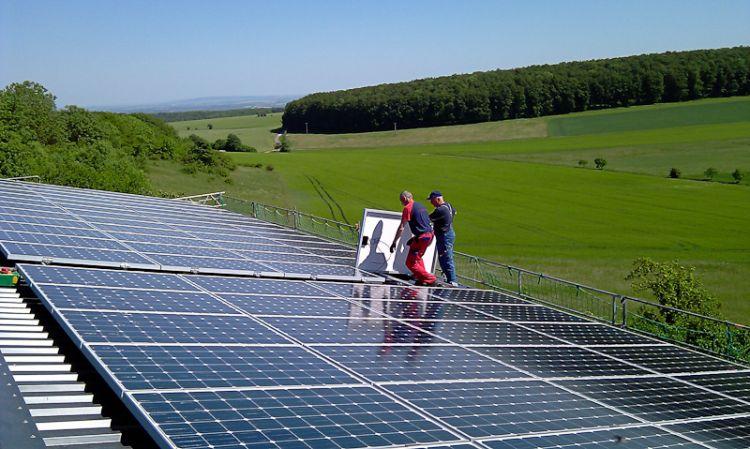 Photovoltaik Eigenrieden