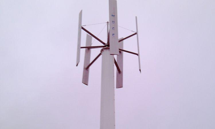 Windgenerator Eigenrieden